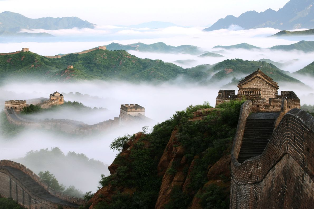 CHINA: A GRANDE MURALHA