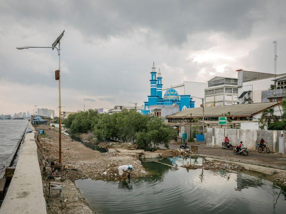 Afundamento de terras e subida do nível do mar: duas crises enfrentadas pelas comunidades costeiras