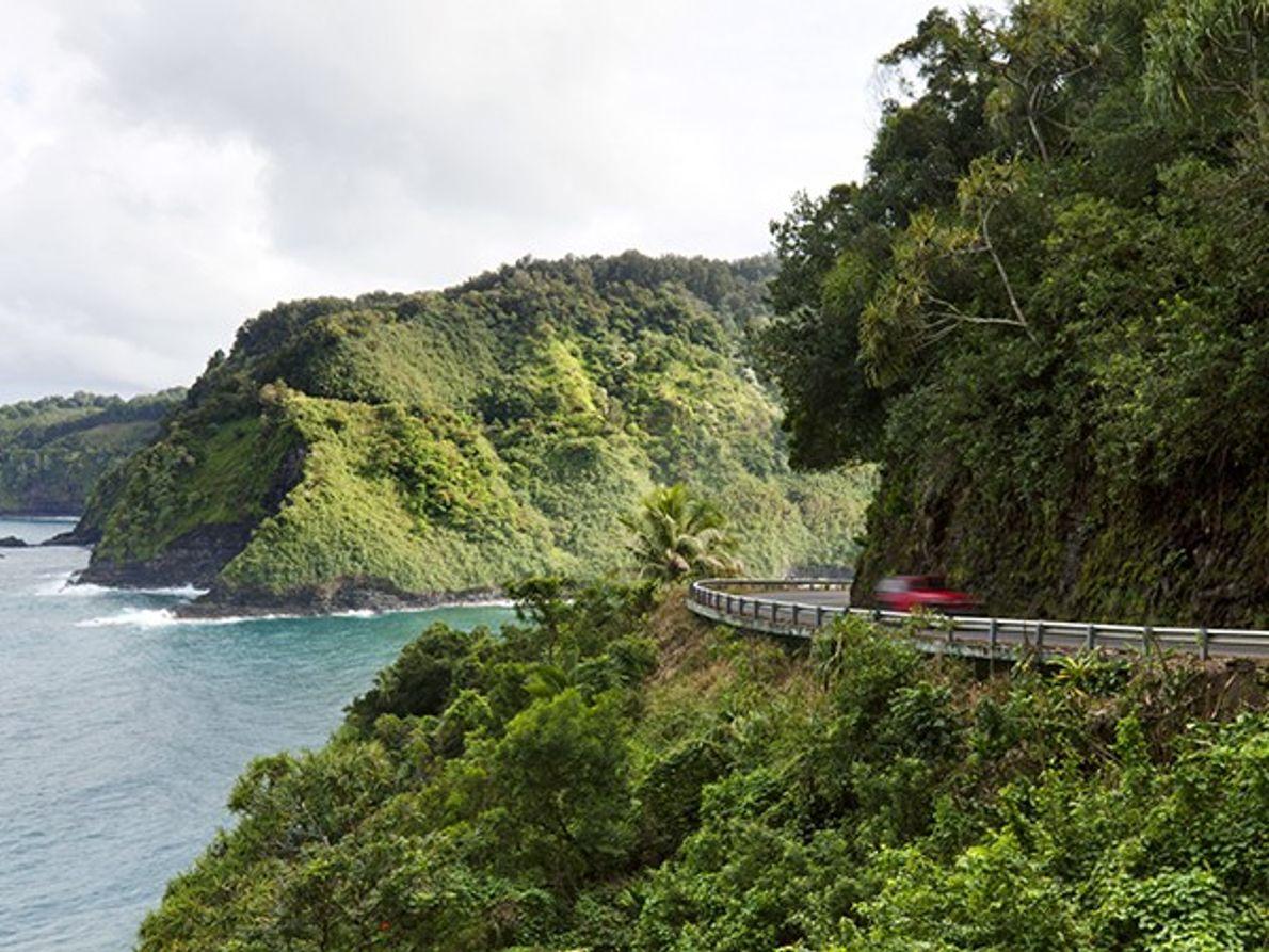 """Conduza na """"Estrada para Hana"""", Maui"""