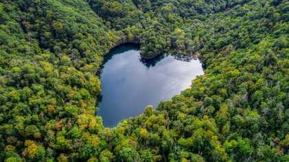 Apaixone-se por 10 Lugares em Forma de Coração