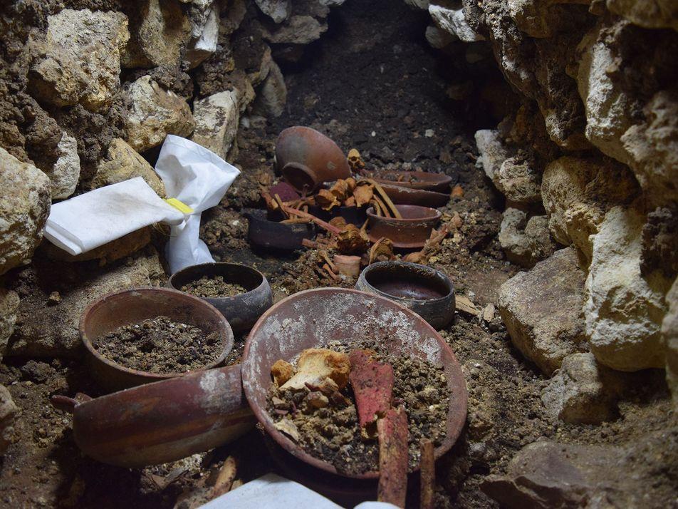 Antigo Rei Maia Descoberto Em Túmulo Da Dinastia Centopeia