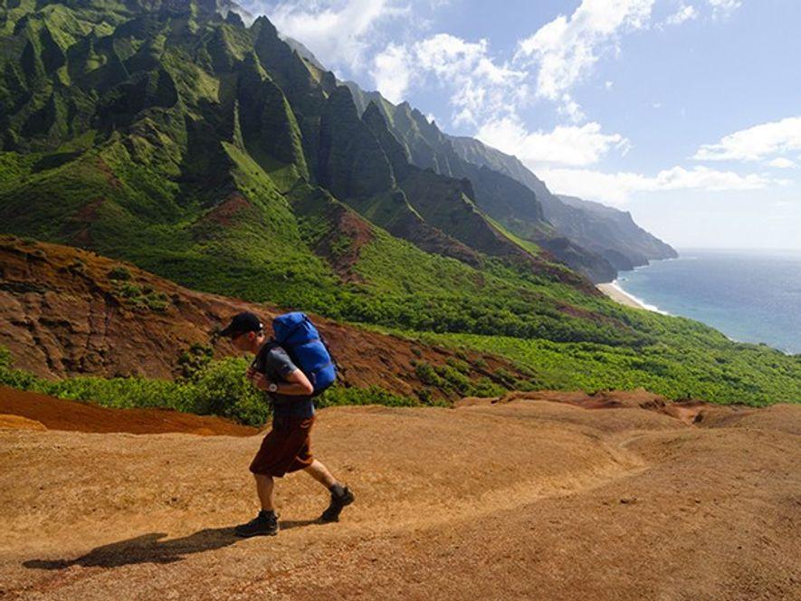 Caminhe pela Lendária Costa Na Pali, KauaiConsiderada a melhor rota de mochila do estado, de 22 ...