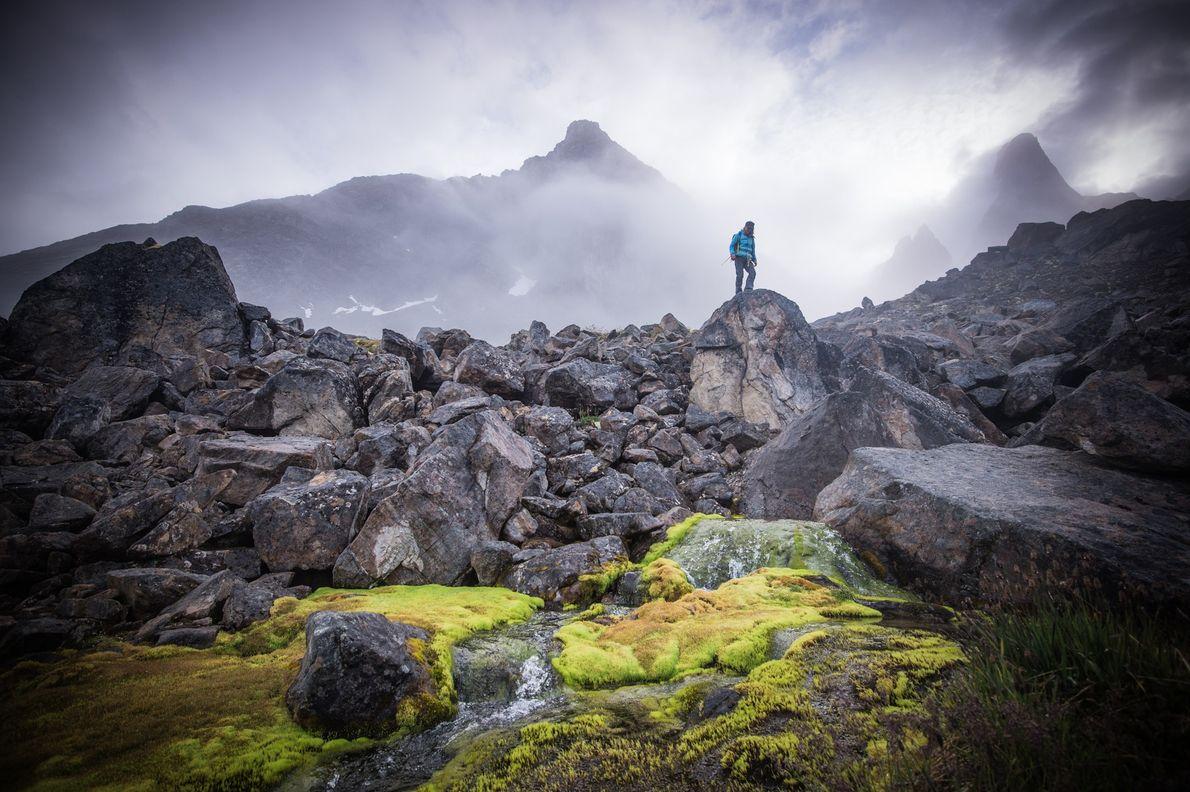 Nenhuma das terras da Gronelândia é privada, permitindo aos exploradores mais ousados construir os seus próprios ...