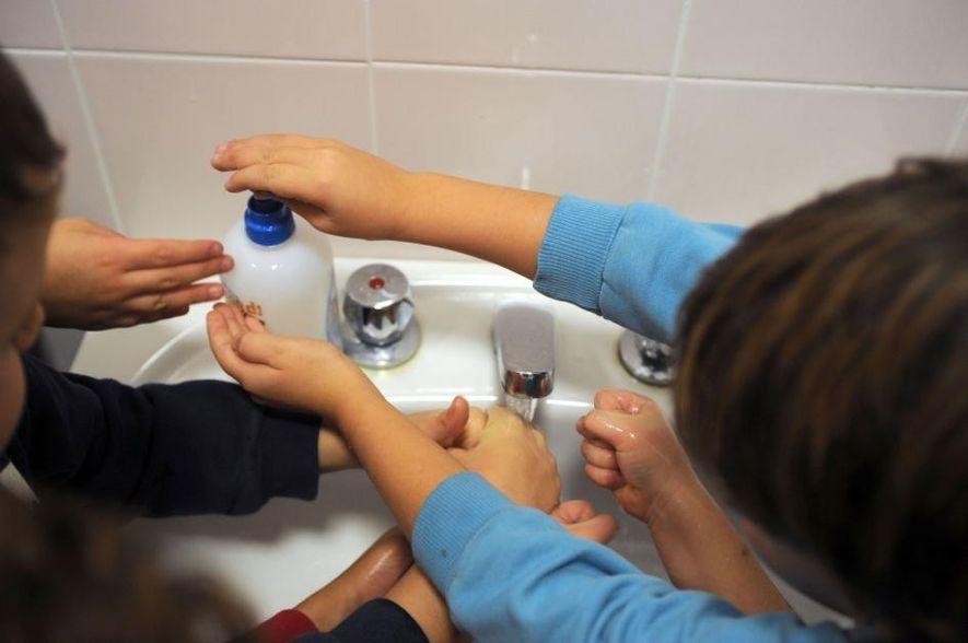 Quando a estirpe da gripe H1N1 surgiu em 2009, as crianças de Milão em idade escolar ...