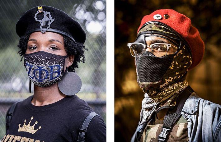Esquerda: Schcola Chambers, de Miami, na Flórida, participou na Marcha do Compromisso no dia 28 de ...