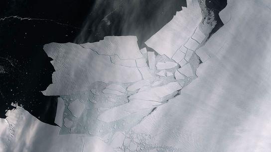 Esta imagem, captada no dia 11 de fevereiro pela missão Copernicus Sentinel-2, mostra em detalhe os ...