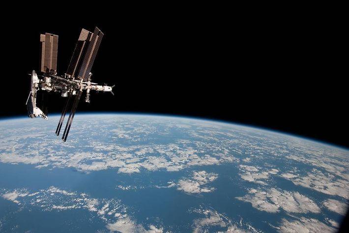 Estação Espacial Internacional.