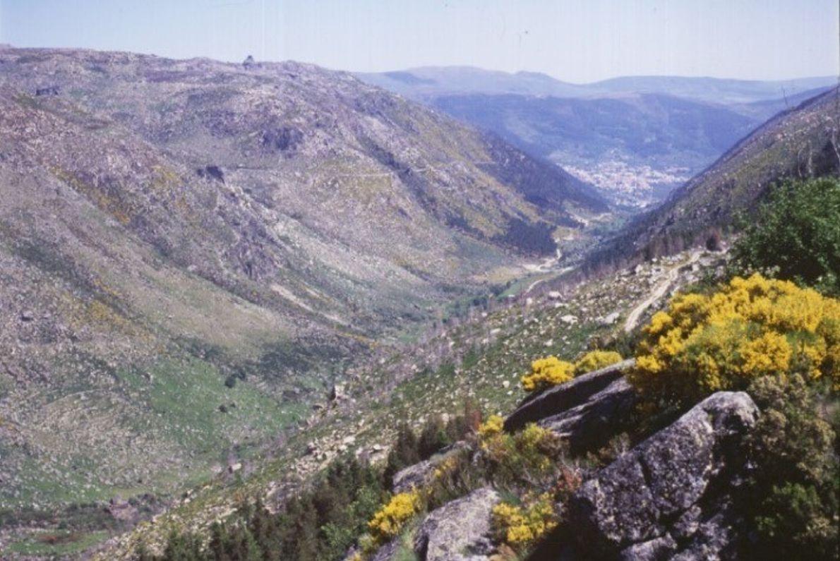 Vale Glaciar do Zêzere, Parque Natural da Serra da Estrela.