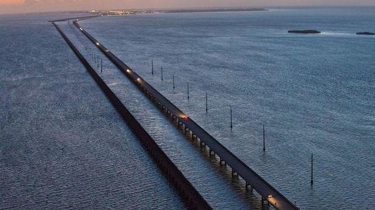 A ponte Six Mile.