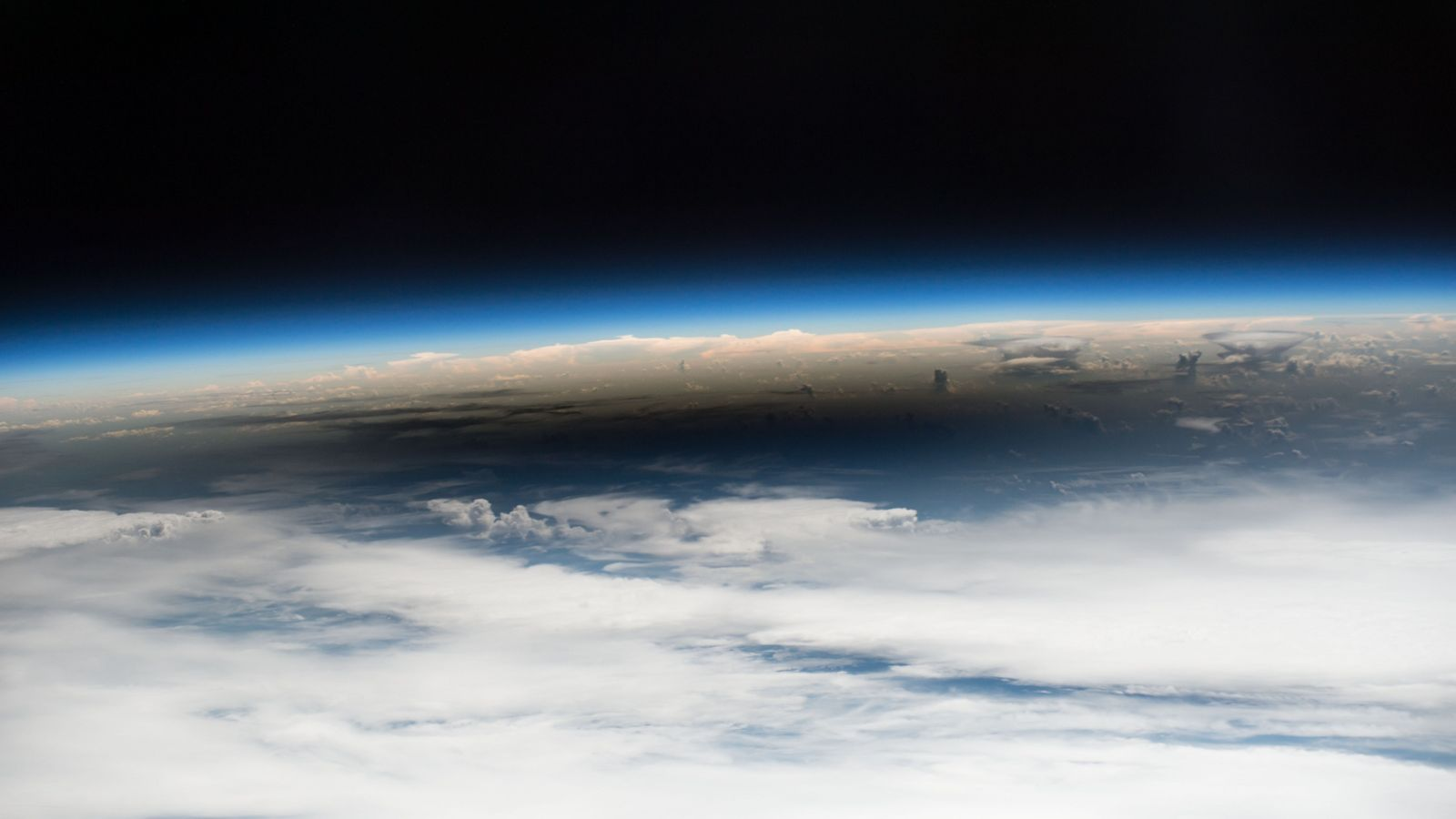 Eclipse visto do Espaço