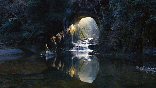 Gruta no Japão Ganha a Forma de um Coração com a Luz do Sol