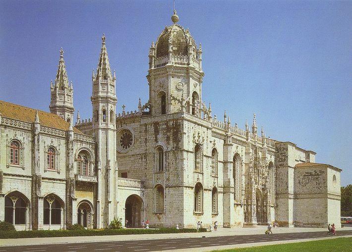 Mosteiro dos Jerónimos, Lisboa.
