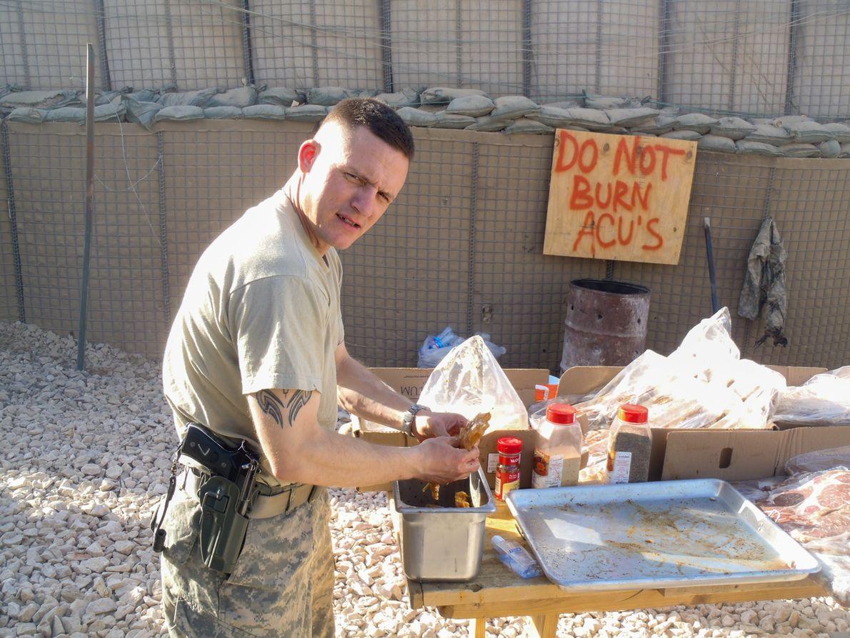Terry Twitchel, primeiro sargento da unidade de John Principe