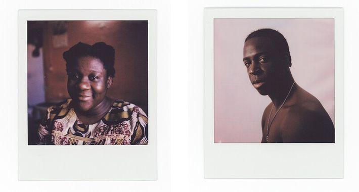 Esquerda: Manuela Pedro, 35 anos. Direita: Roberto Cravid aka Kid Robinn, 22 anos, rapper nascido e criado no bairro da ...