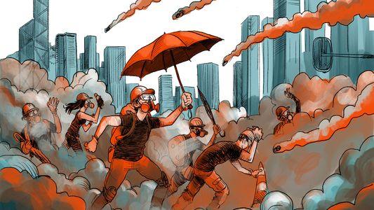 História de Hong Kong em Ilustrações