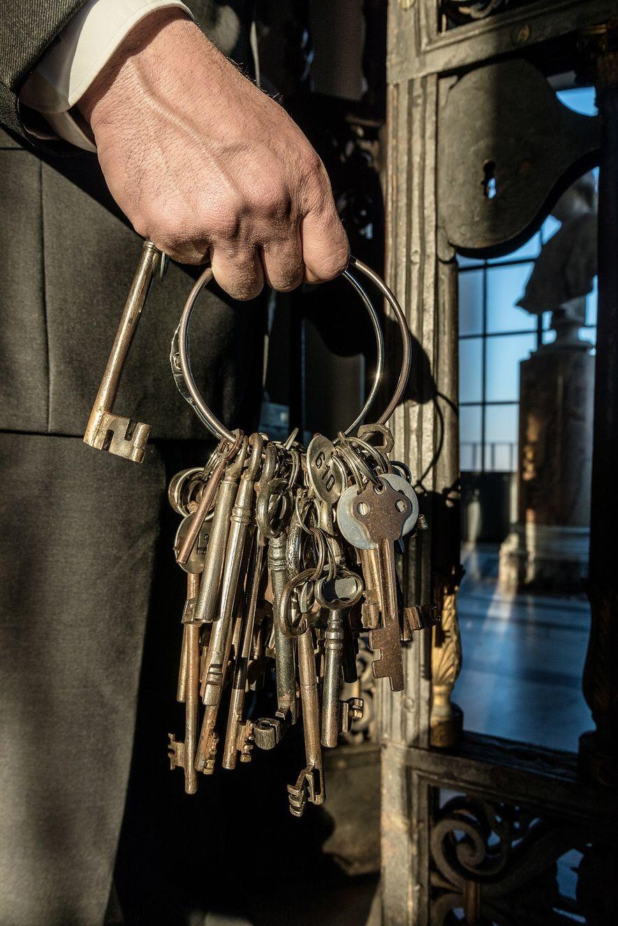 """""""Eu tenho as chaves, no sentido figurativo, da História da Cristandade, tanto da História cristã, como ..."""