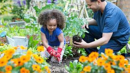 A Jardinagem Pode Ensinar Lições Valiosas às Crianças