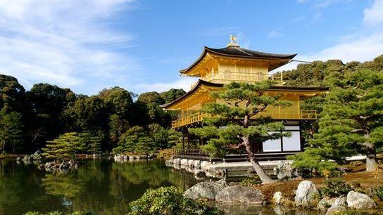 Fotografia: The Kinkakuji (Golden Pavilion), Japan
