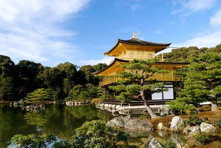 Fotografia: The Kinkakuji (Golden Pavilion), Japan
