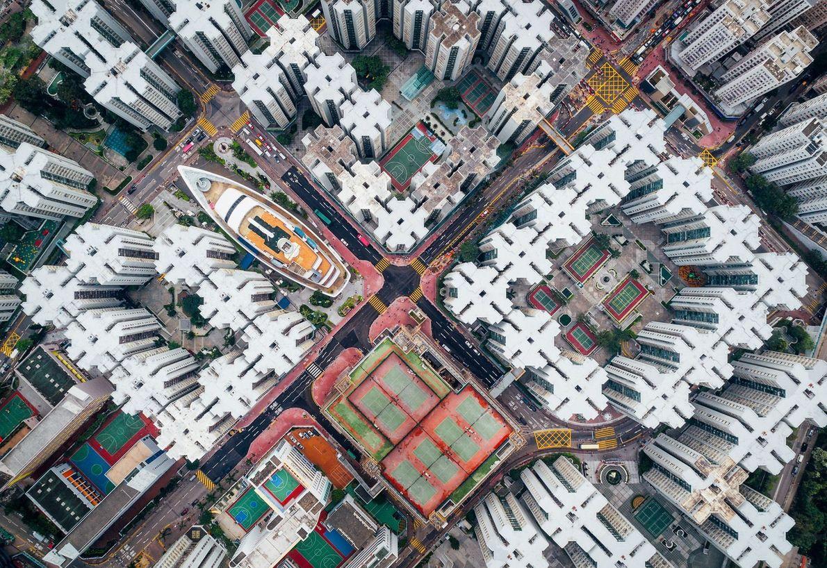 CIDADE MURALHADA DE KOWLOON, HONG KONG