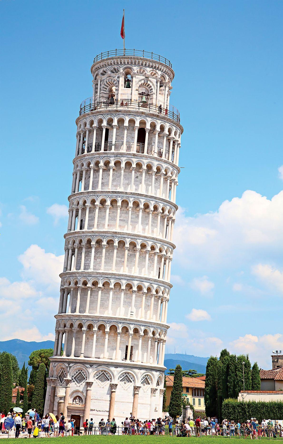 PISA, ITÁLIA: A TORRE INCLINADA