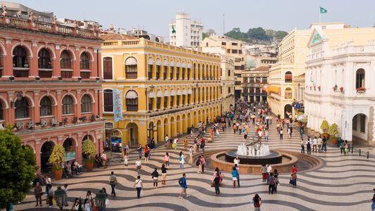 Comida Tradicional na Cidade Moderna de Macau