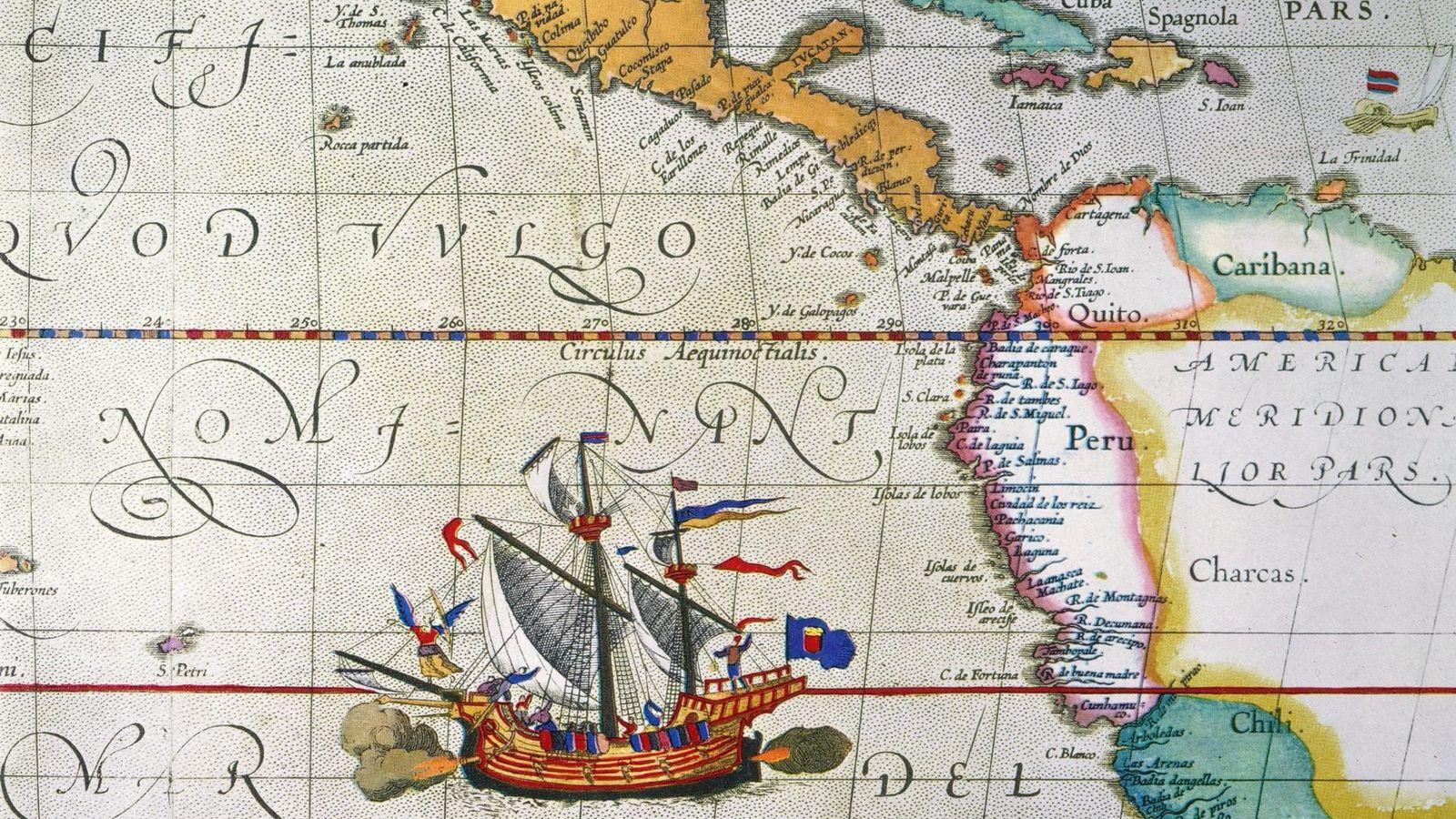 Em setembro de 1519, Magalhães partiu de Espanha com 5 naus. Três anos depois, só uma ...