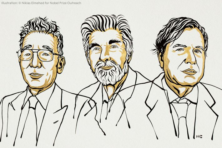 Vencedores do Prémio Nobel da Física