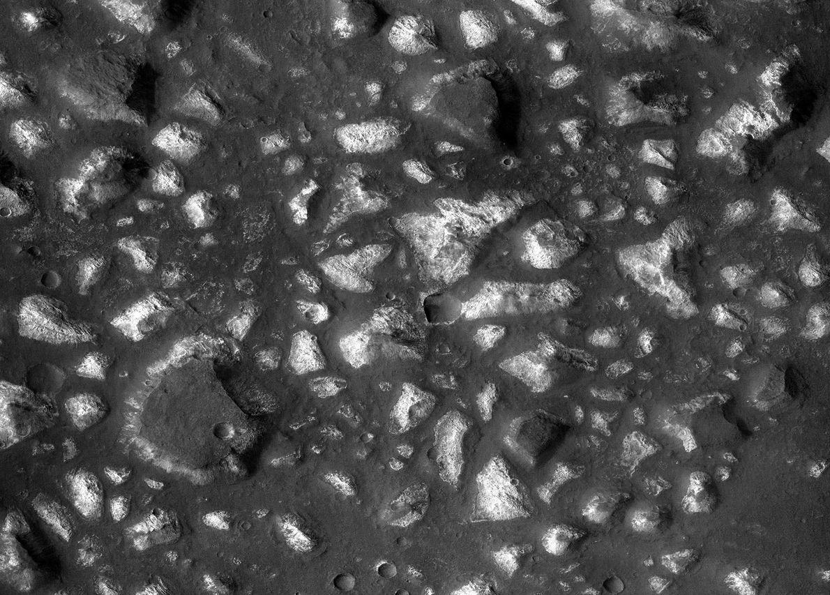 Fotografias de Marte e a Existência de Água