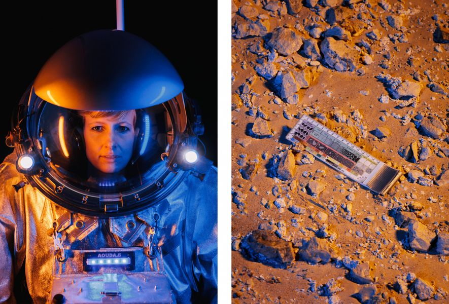 Todos os astronautas análogos transportam uma ferramenta de referência útil chamada geo-chart
