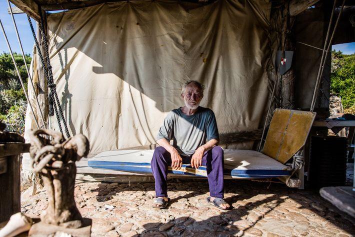 Conheça o homem que viveu sozinho nesta ilha durante 28 anos