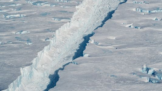 Fotografias Exclusivas: Um Icebergue Gigante Solta-se da Antártida