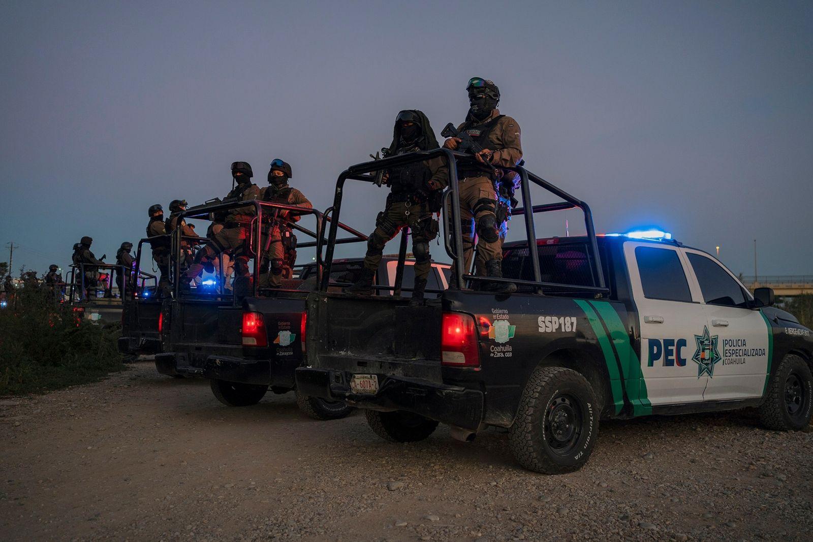 Carrinhas da polícia