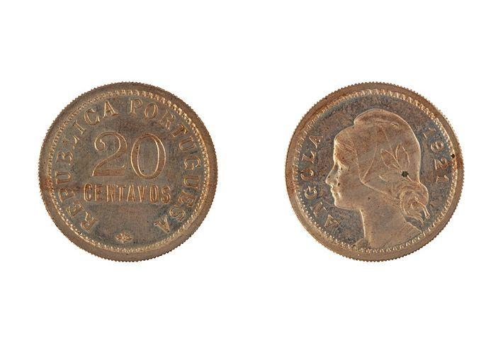 moeda de 20 centavos