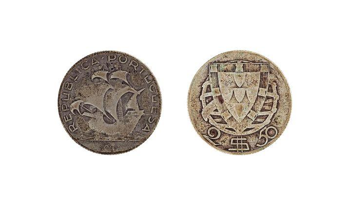Moeda de2,5 escudos do ano1937