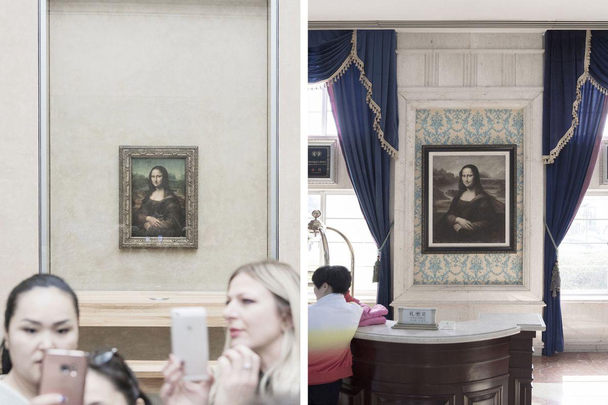 Réplicas do retrato de Mona Lisa