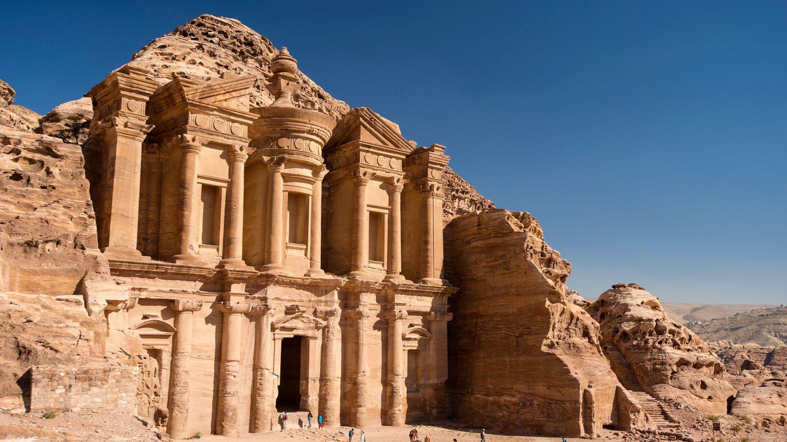 A histórica cidade de Petra