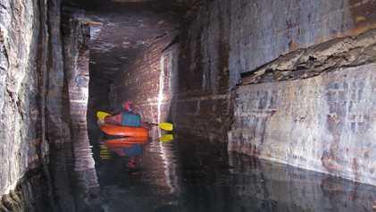 Reveladas Cavernas da Idade do Gelo Debaixo de Cidade no Canadá