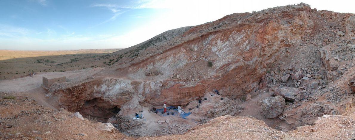 Estes primeiros humanos viveram há 300 mil anos – com feições modernas