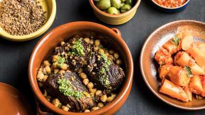 Bife do Acém Estufado com Especiarias Ras El Hanout