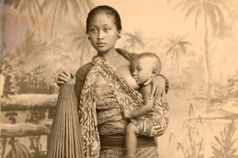 Fotografias Vintage que Celebram as Mães em Todo o Mundo