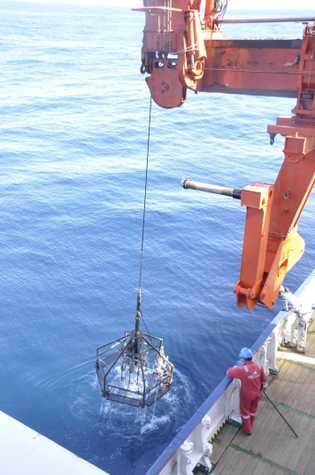 A campanha oceanográfica M162 – GLORIA FLOW decorreu entre 5 de março e 5 de abril ...