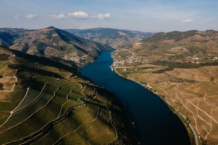 As paisagens inigualáveis do Douro internacional.