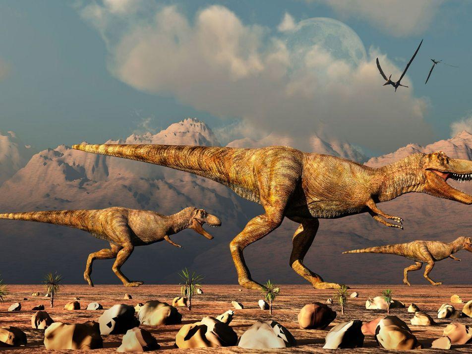 Paleontólogos alegam que a Terra pode ter sido habitada por milhares de milhões de T. rex