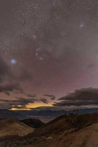 Poluição luminosa do Parque Nacional do Vale da Morte