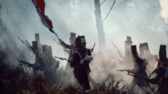 Encenação de uma batalha daépoca