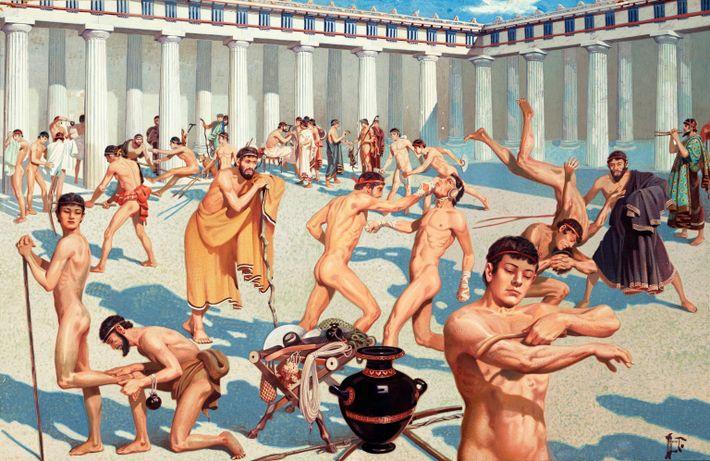 Atletas da Grécia Antiga