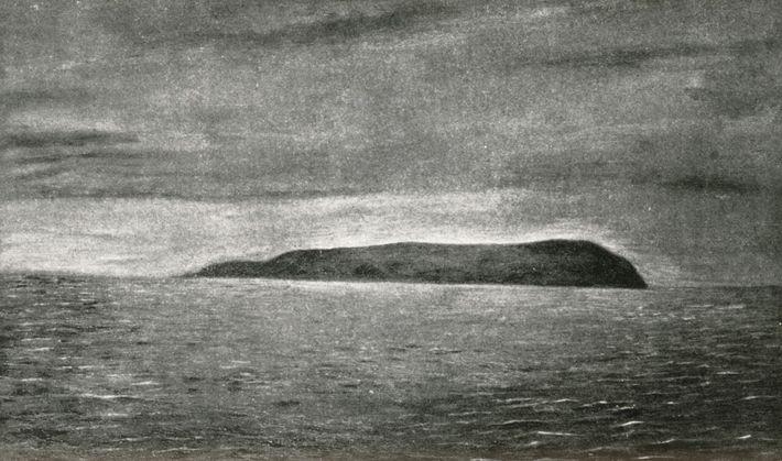 Ilha Herald, Mar Chukchi, Oceano Ártico | 1889