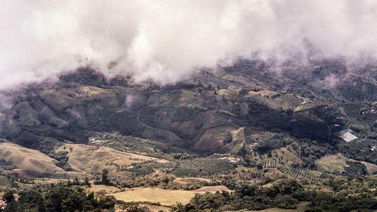 As encostas férteis e verdejantes de Caldas integram a Paisagem Cultural do Café da Colômbia, reconhecida ...