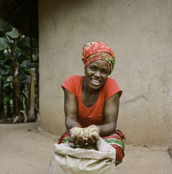 Jesca Kangai, 35 anos, vive na aldeia de Pangeti, distrito de Mutasa, nas montanhas do leste ...